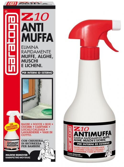 Z10 assorbiumido e sistemi antimuffa saratoga for Antimuffa per pareti
