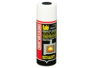 Falò Smalto Spray Alte Temperature - Per forni, stufe, caldaie, canne fumarie