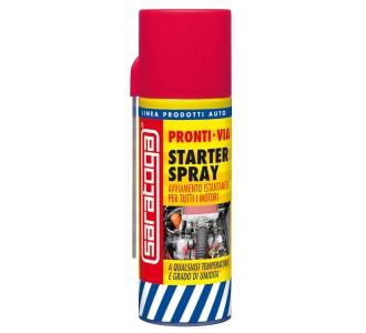 Diesel starter spray