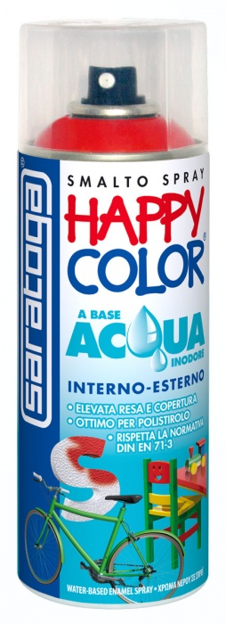 happy color acqua vernici spray saratoga. Black Bedroom Furniture Sets. Home Design Ideas
