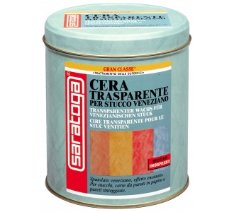 Transparent Wax For Venetian Plaster